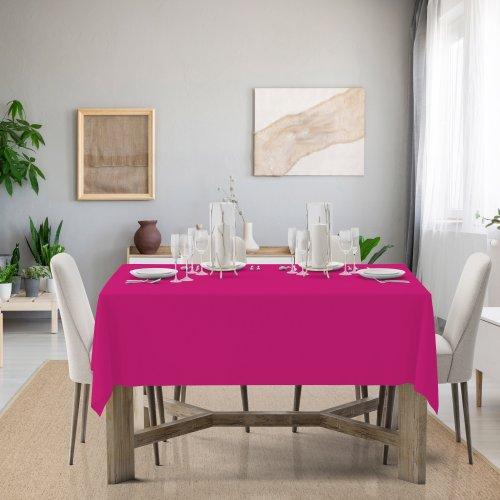 Obrus na stół Classic U404-11 róż mocny