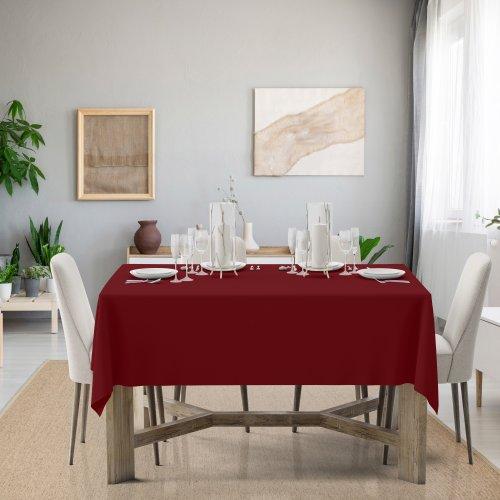 Obrus na stół Classic U404-13 bordowy
