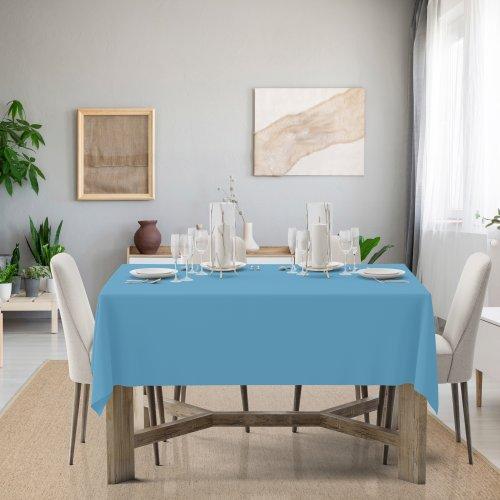 Obrus na stół Classic U404-14 błękitny