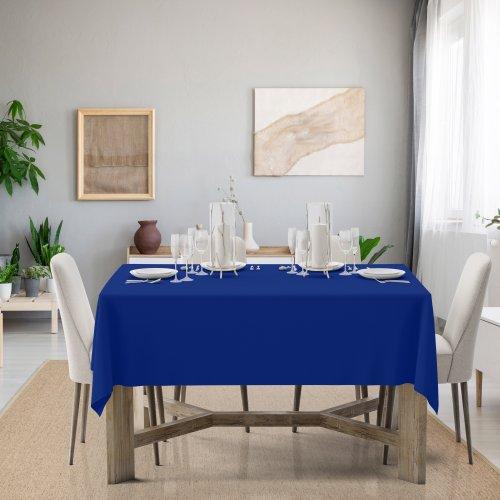 Obrus na stół Classic U404-15 chabrowy