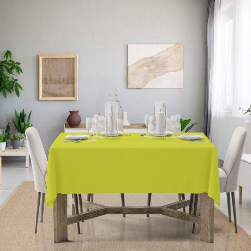 Obrus na stół Classic U404-21 limonkowy