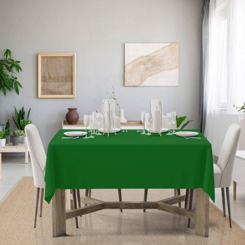 Obrus na stół Classic U404-25 zieleń trawiasta