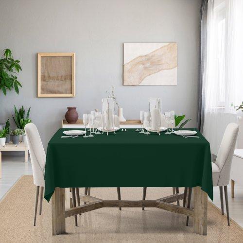 Obrus na stół Classic U404-26 zieleń butelkowa