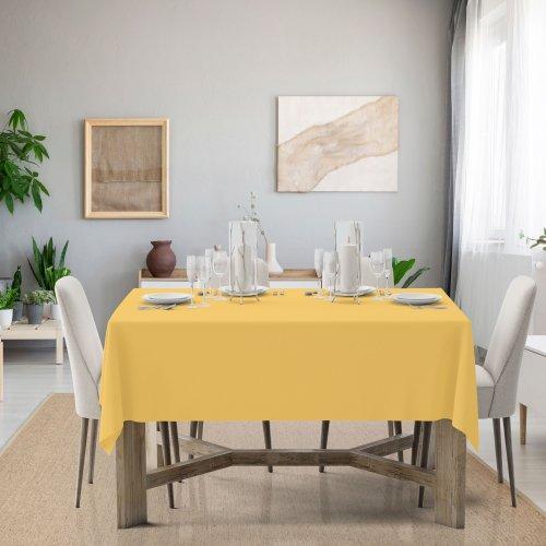 Obrus na stół Classic U404-44 żółty pastel