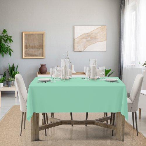 Obrus na stół Classic U404-53 pistacjowy