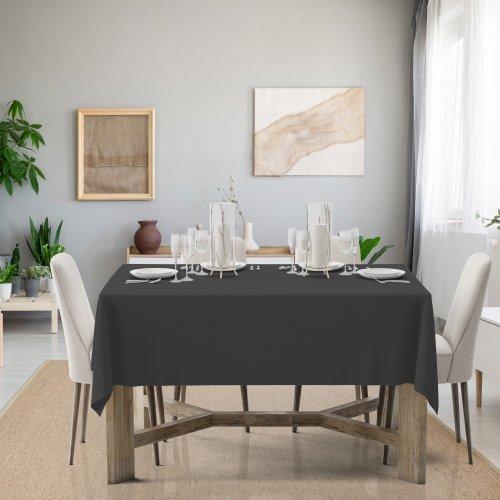 Obrus na stół Classic U404-61 grafitowy