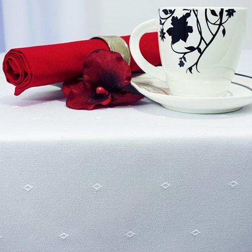 Obrus plamoodporny CRISTAL DAY 467-01 śmietanka