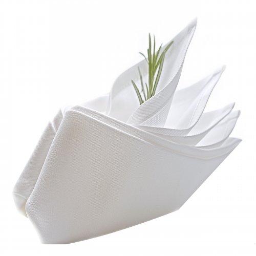 Serwetka Bawełniana COMFORT WHITE 418-01 biała