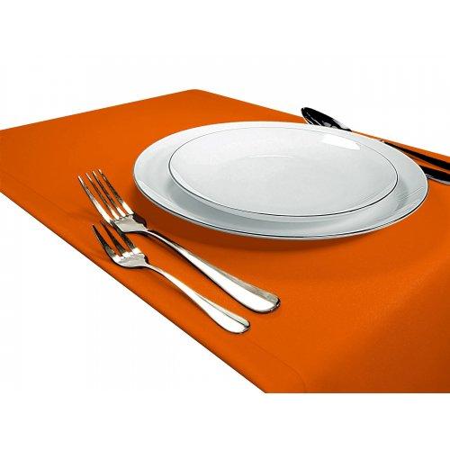 Bieżnik na stół GŁADKI STANDARD 404-06 pomarańcz