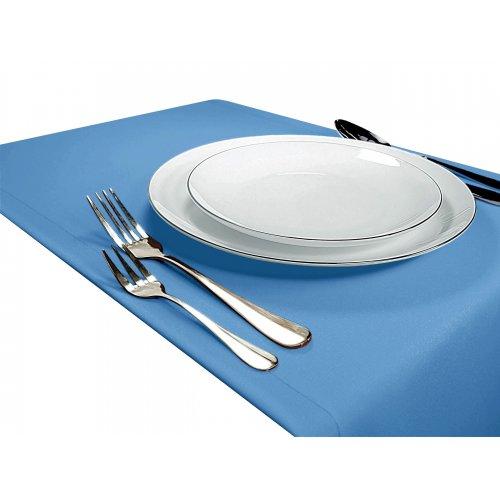 Bieżnik na stół GŁADKI STANDARD 404-14 błękitny