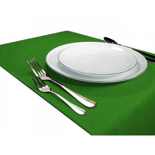Bieżnik na stół GŁADKI STANDARD 404-25 zieleń trawiasta