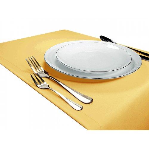 Bieżnik na stół GŁADKI STANDARD 404-44 żółty pastel