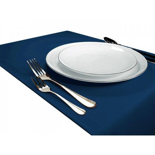 Bieżnik na stół GŁADKI STANDARD 404-66 blue green