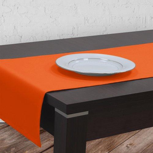Bieżnik na stół plamoodporny GOLD 401-06 pomarańcz