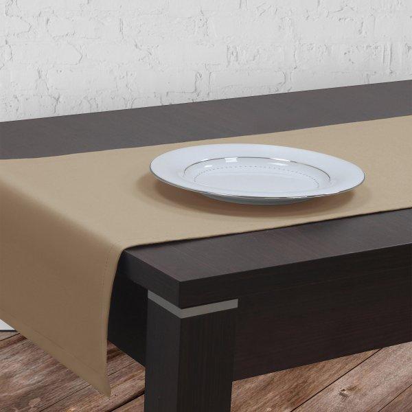030decabf5b6be Bieżnik na stół plamoodporny GOLD 401-03 beżowy - Sklep internetowy  TanieObrusy.pl