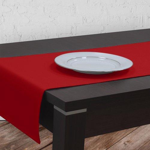 Bieżnik na stół plamoodporny GOLD 401-12 czerwony