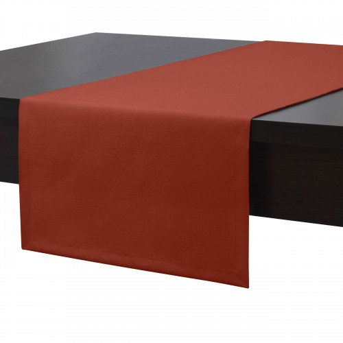 Bieżnik na stół plamoodporny PREMIUM 414-07 terakota