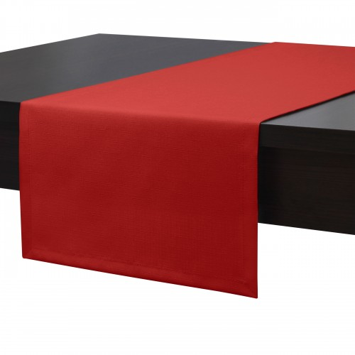 Bieżnik na stół plamoodporny PREMIUM 414-12 czerwony