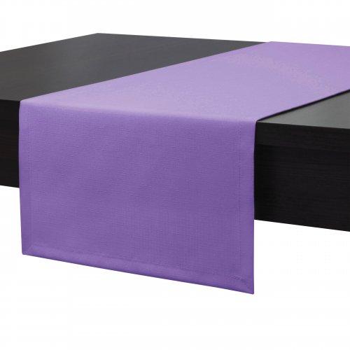Bieżnik na stół plamoodporny PREMIUM 414-19 lila