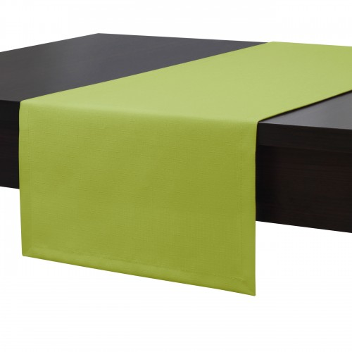 Bieżnik na stół plamoodporny PREMIUM 414-22 oliwka
