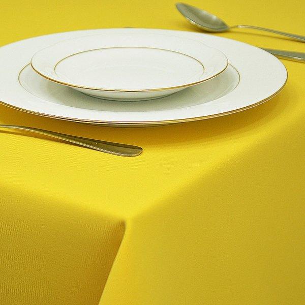 Obrus GŁADKI STANDARD 404-05 żółty