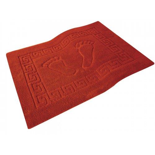 Dywanik łazienkowy ANTYPOŚLIZGOWY 50x70 210-12 czerwony