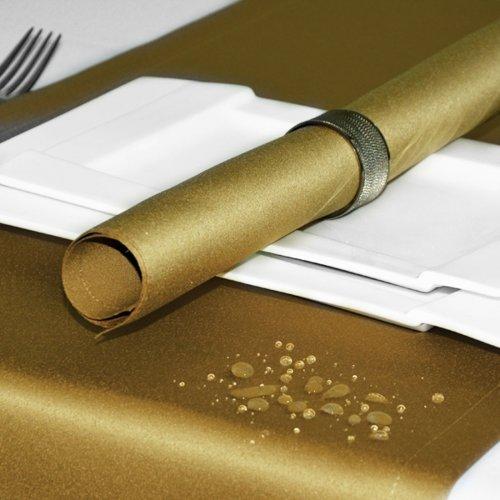 Bieżnik na stół plamoodporny ELEGANCE 400-63 złoty