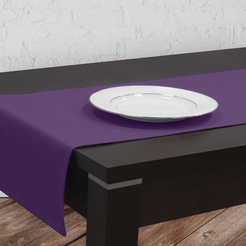 Bieżnik na stół plamoodporny GOLD 401-18 fiolet