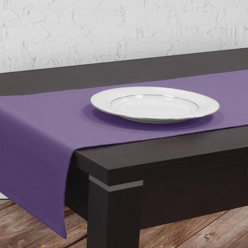 Bieżnik na stół plamoodporny GOLD 401-19 lila