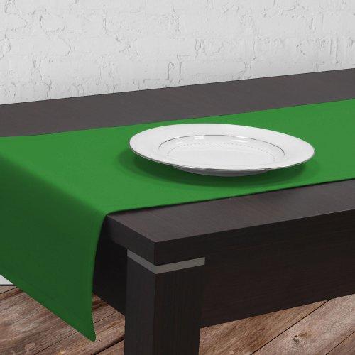 Bieżnik na stół plamoodporny GOLD 401-25 zieleń trawiasta