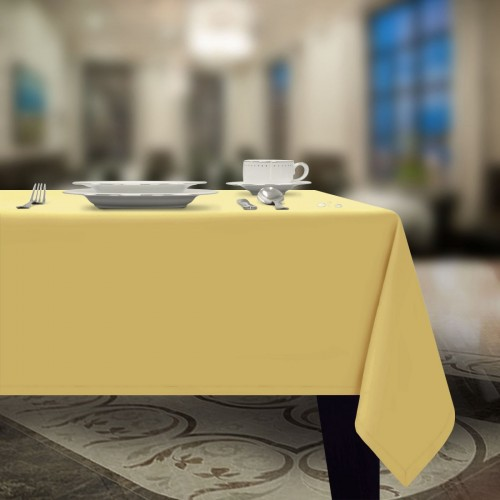 Obrus plamoodporny GŁADKI GOLD 401-44 żółty pastel