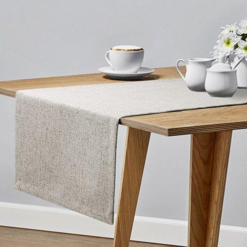 Bieżnik na stół VERONA 177-147 grey beige