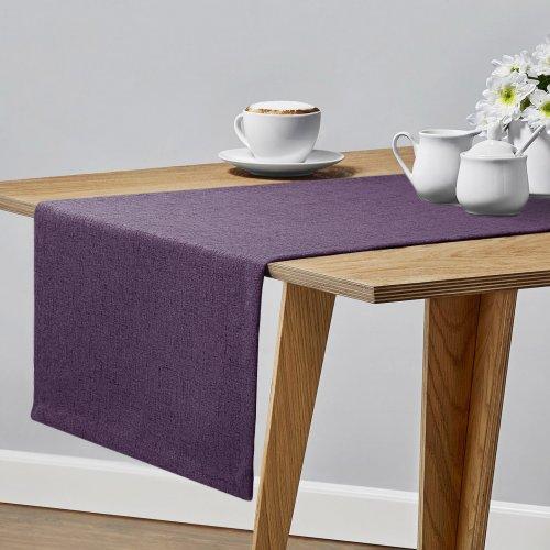 Bieżnik na stół VERONA 177-151 purple