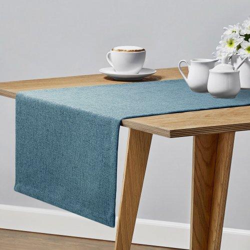 Bieżnik na stół VERONA 177-155 blue