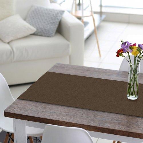 Bieżnik na stół VERONA 177-29 marron