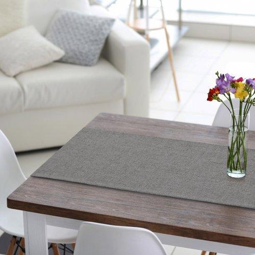 Bieżnik na stół VERONA 177-86 grey