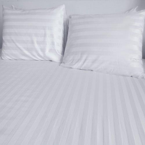 Pościel hotelowa BAWEŁNA ADAMASZEK PASY 2cm