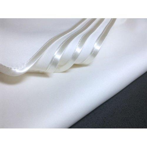 Obrus plamoodporny Exclusive z lamówką 448-01 biały