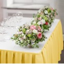 Falbana do stołów GŁADKI STANDARD 404-44 żółty pastel