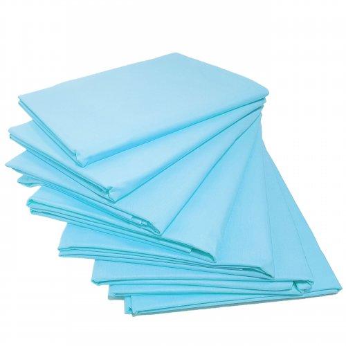 Prześcieradło bawełniane STANDARD 200x220 błękit