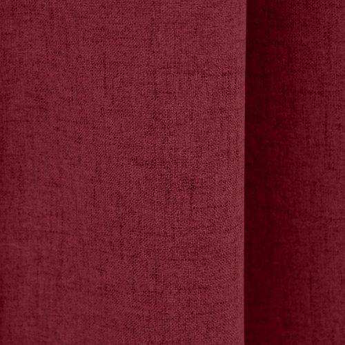 Zasłona gotowa VERONA 140x250 177-150 cranberry