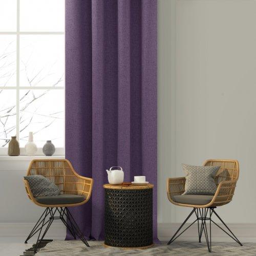 Zasłona gotowa VERONA 140x250 177-151 purple