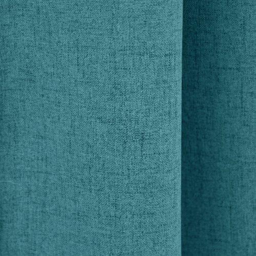 Zasłona gotowa VERONA 140x250 177-154 177-155 blue