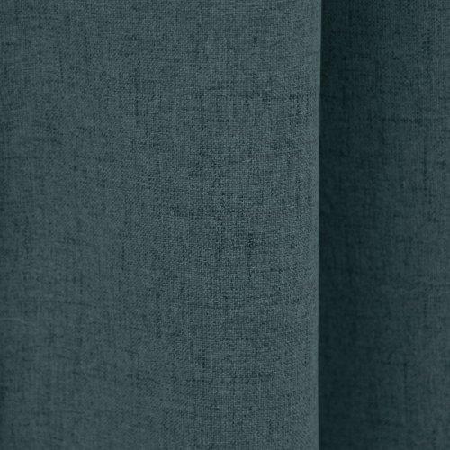 Zasłona gotowa VERONA 140x250 177-154 177-156 steel grey