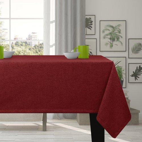 Obrus na stół VERONA 177-150 cranberry