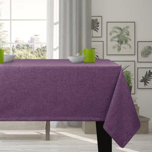 Obrus na stół VERONA 177-151 purple