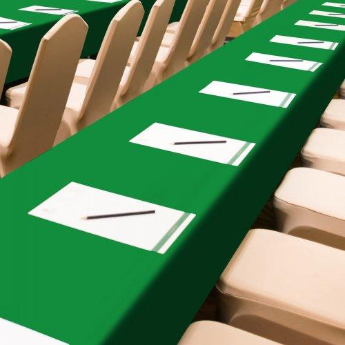 Obrus konferencyjny zielony