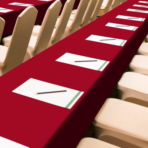Obrus Konferencyjny 411-13 bordowy