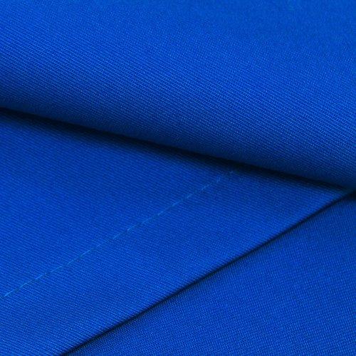 Obrus konferencyjny niebieski