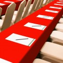 Obrus Konferencyjny 411-12 czerwony